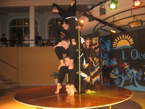 Турецкие акробаты