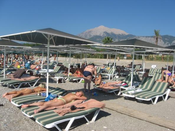Пляж отеля L'Oceanica