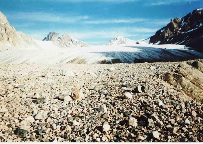 Ледник Жусанды-Кунгей