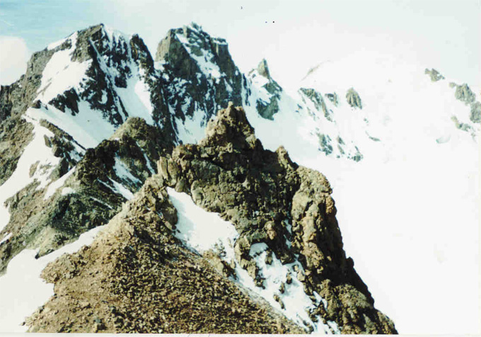 На перевале Попова