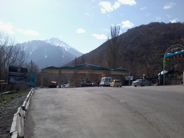 Экопост в Большом Алматинском ущелье