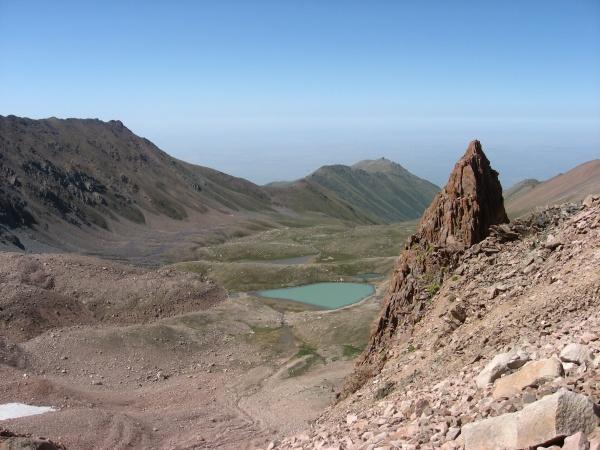 Вид с перевала Титова