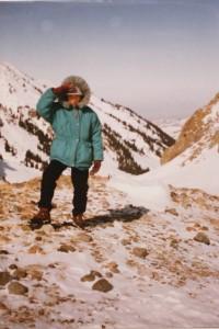 На плато Мынжилки зимой