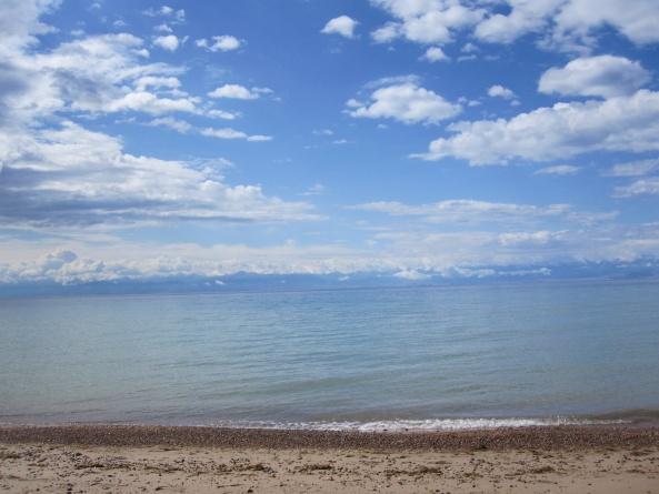 Пляж Центра отдыха Радуга Иссык-Куль