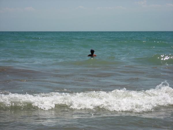 Бирюзовые воды Капчагая