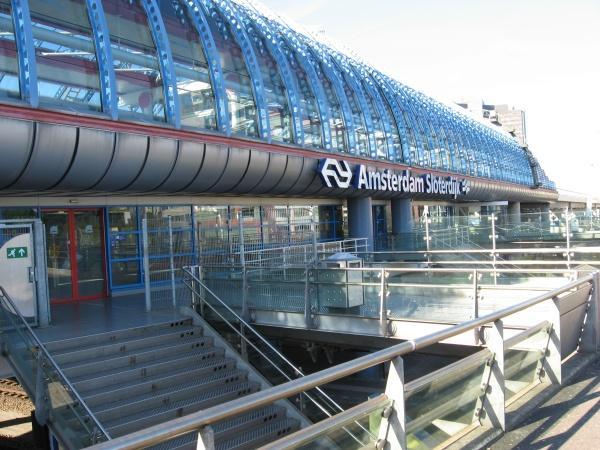 Станция метро Слотердийк