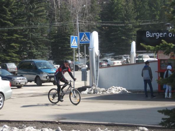 Первая поездка на велосипеде в сезоне 2013