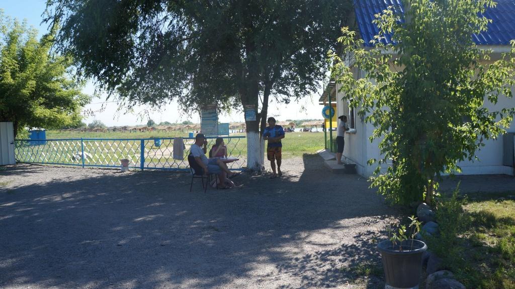 Ресепшн на зоне отдыха Бастау