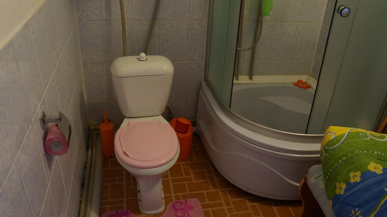 Туалет в зоне отдыха Белый Парус