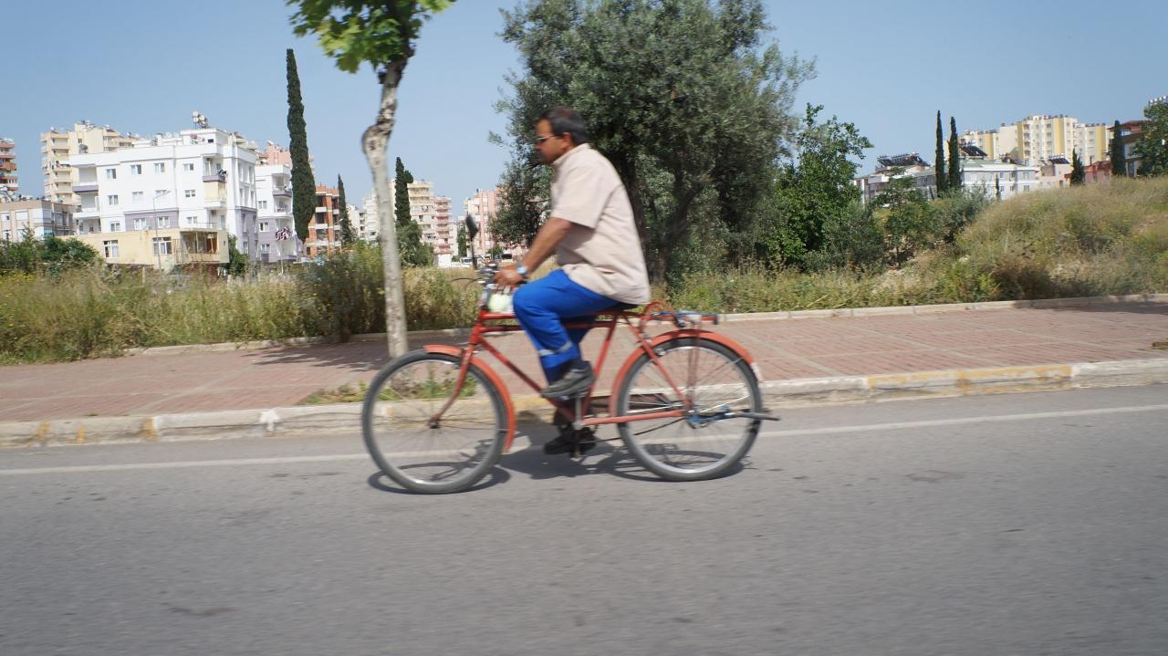 Велосипед в Турции