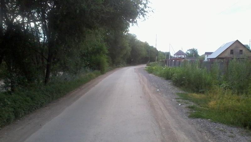 Дорога вдоль БАКа