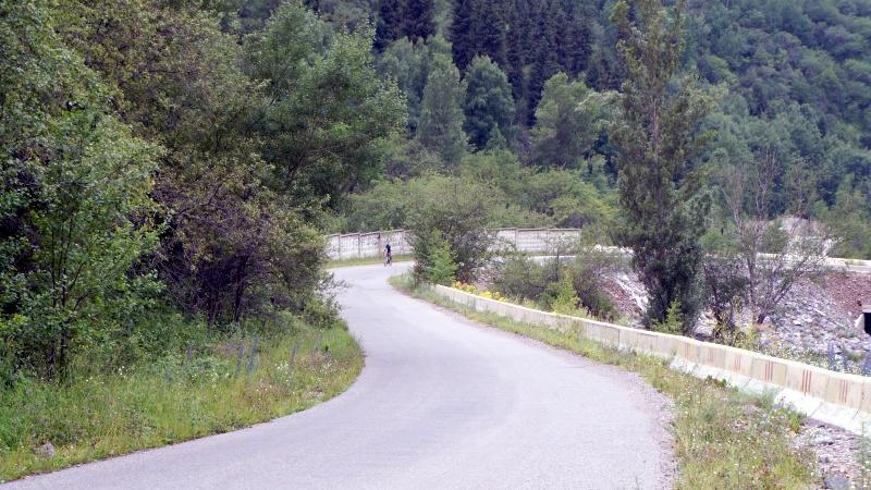Дорога на Иссыкское озеро