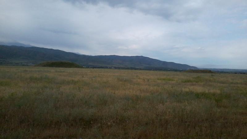 Скифские курганы в районе г. Иссык