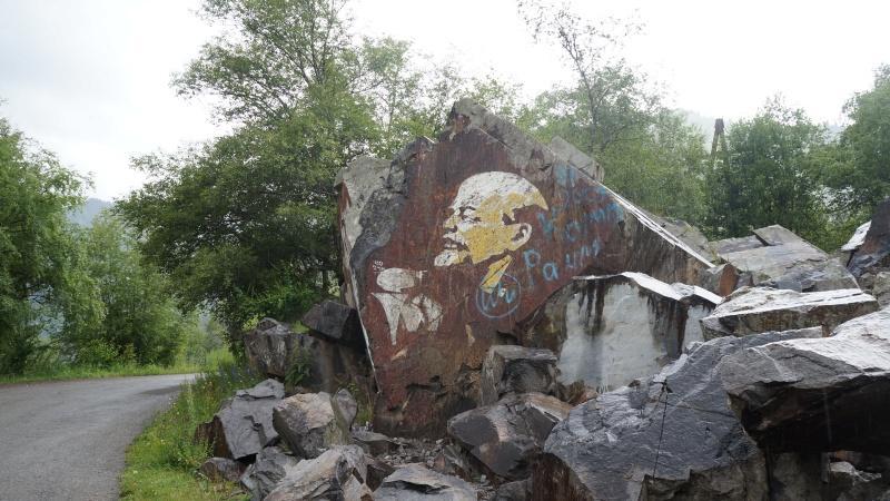 Ленин на озере Иссык