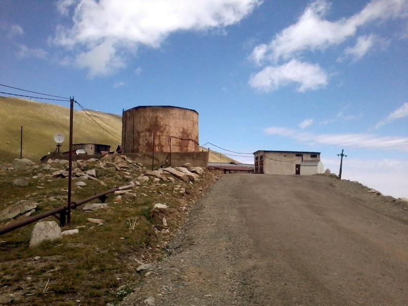Космостанция, перевал Жосалы Кезен