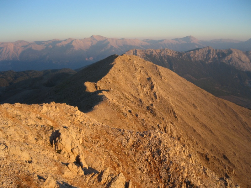 Горы Таврос, вид с горы Тахталы