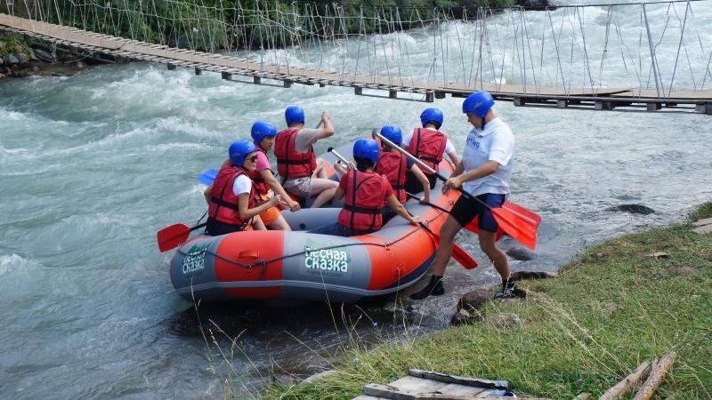 Рафтинг по реке Тургень