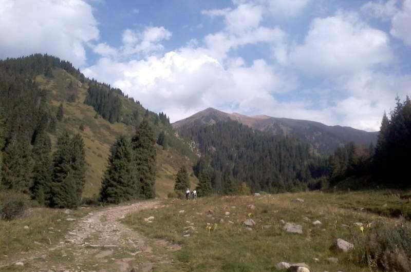 Первый горный вело поход с ночевкой