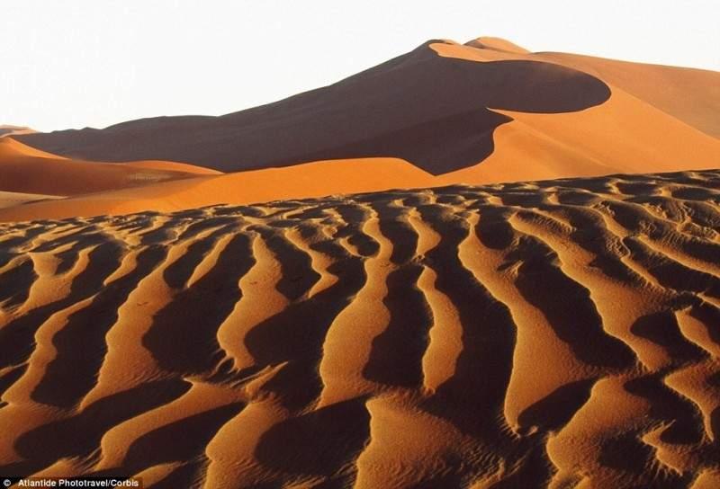 Песчаное море пустыни Намиб
