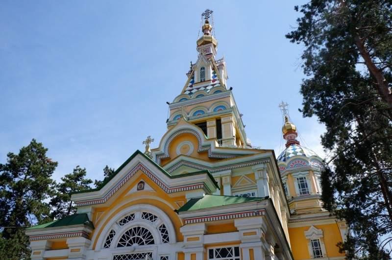 Вознесенский кафедральный собор в парке 28 гвардейцев панфиловцев