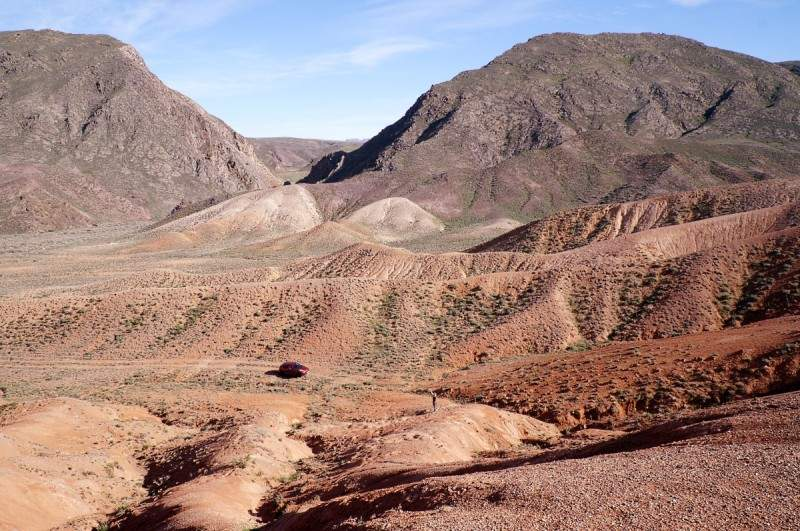 Красные горы - Богуты