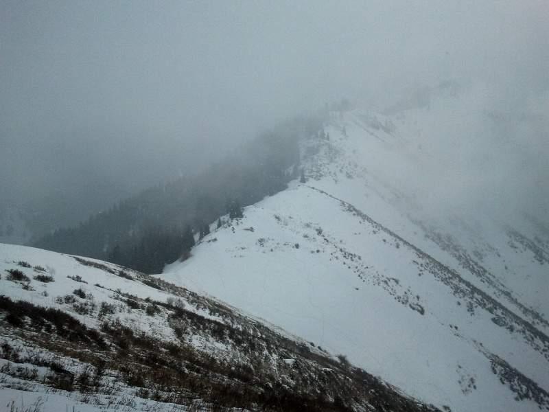 На горе Смотровой (2350 м)