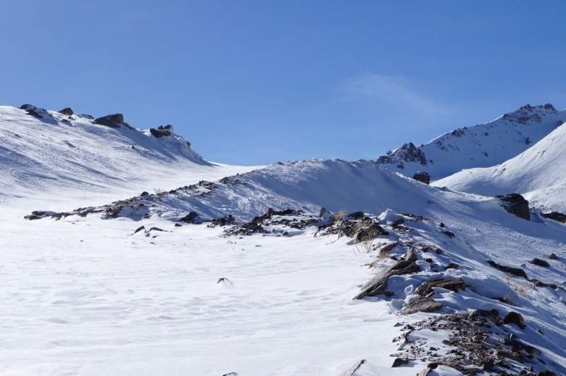 На пути к плато Мынжилки