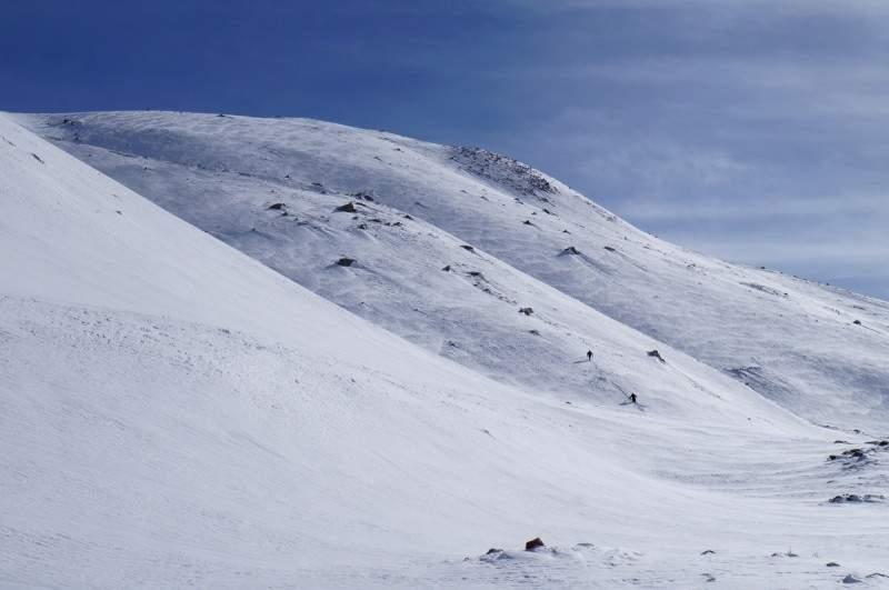 Подъем на Альпенград с плато Мынжилки