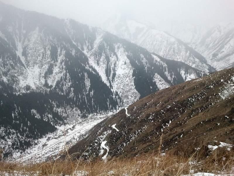На пути к горе Смотровой (2350 м)
