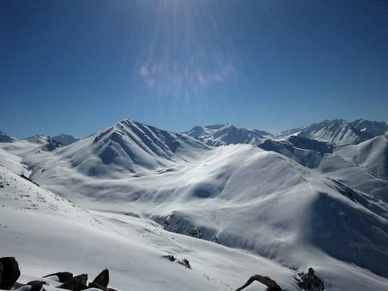 Вершина Терешковой (3435 м)