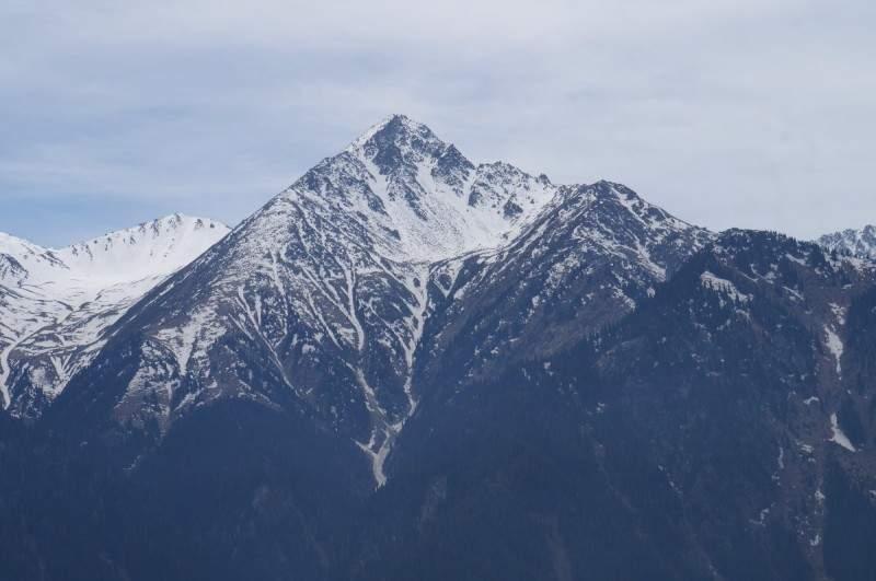 Пик Большой Алматинский (3681 м)
