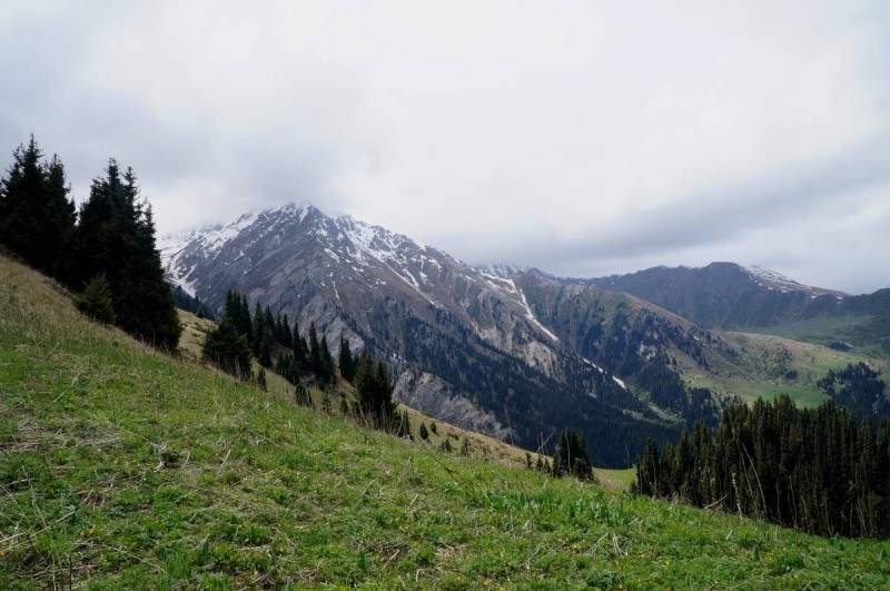 На перевале Каскабас (2550 м)