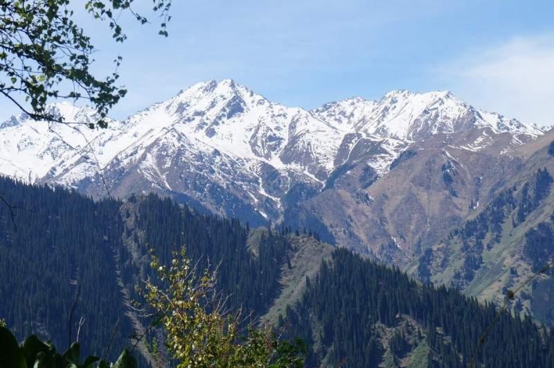 Пики Каргалинский (3675 м), Каменский (3627 м)