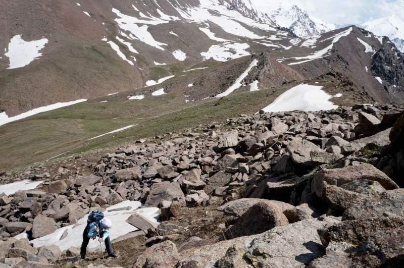 Подъем на пик Терешковой (3435 м)