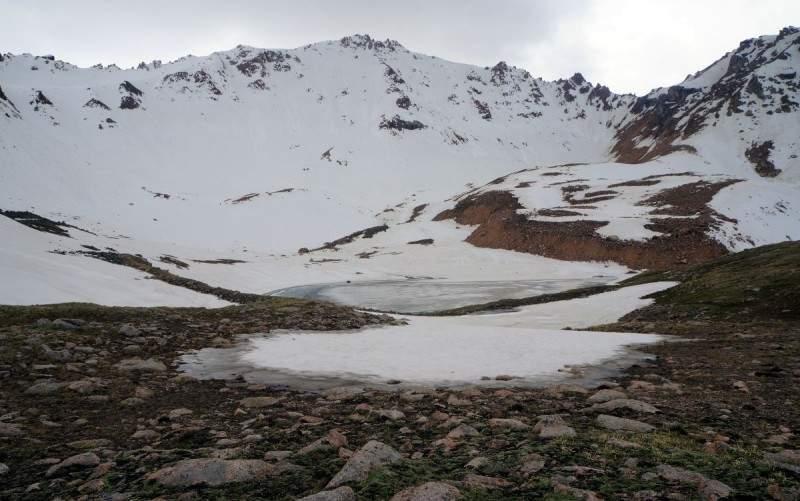 Ледниковое озеро Титова