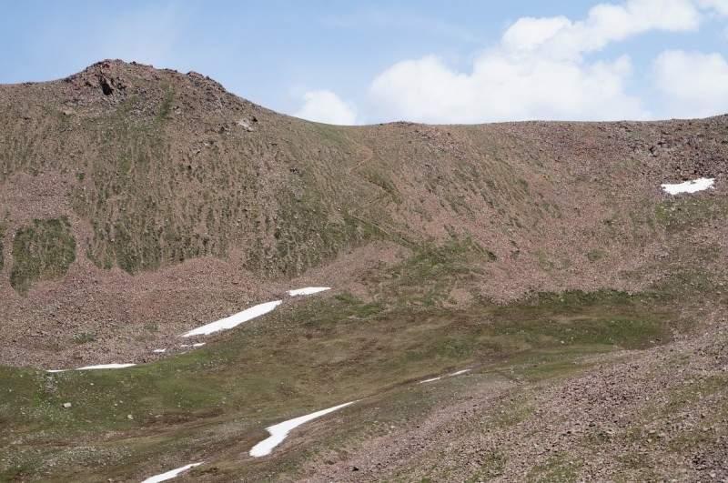 Перевал 3250 м со стороны Терешковой