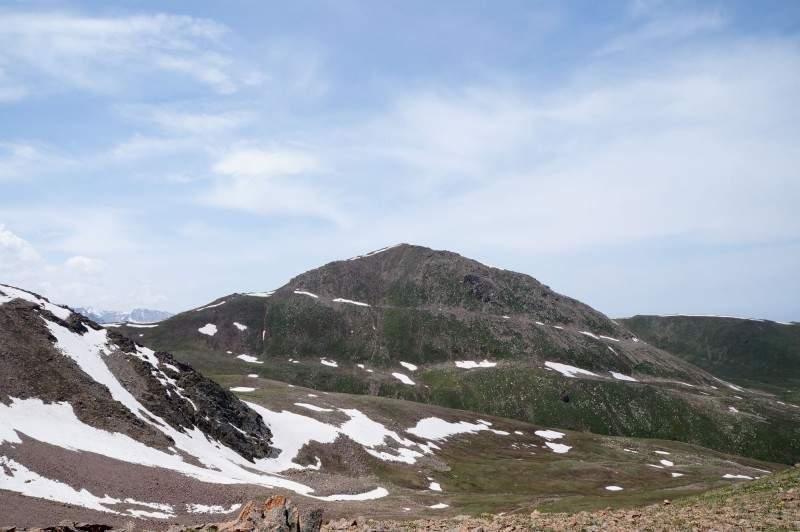 Пик Терешковой 3435 м со стороны Кумбельтау