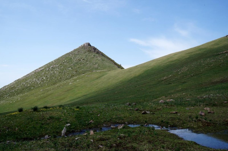 Перевал Трапеция (3130 м)
