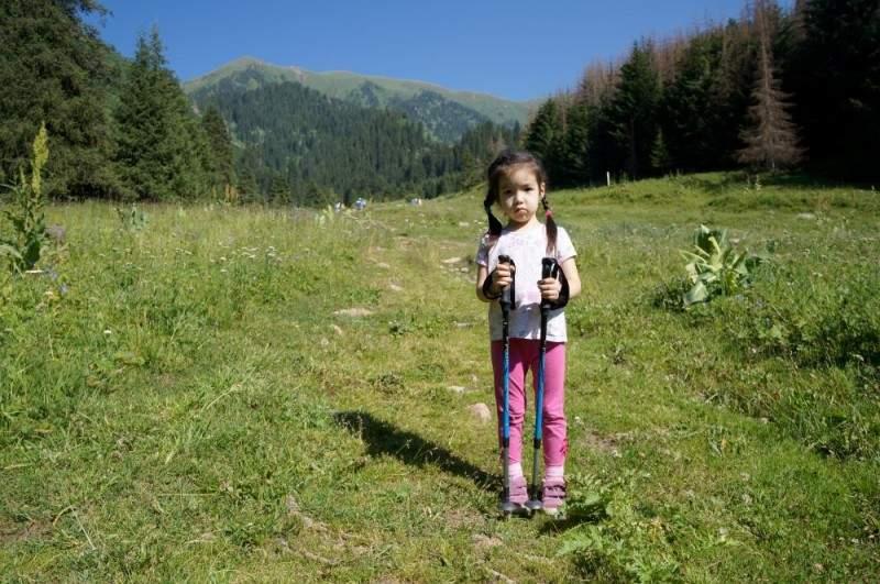 Амелька в горах
