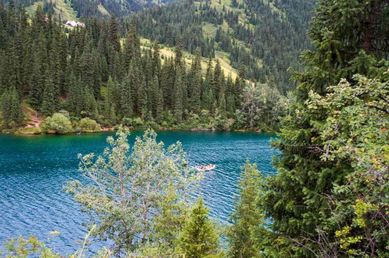 Первое Кольсайское озеро