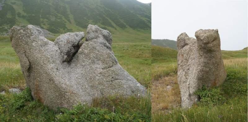 Камень-верблюд в Каргалинском ущелье