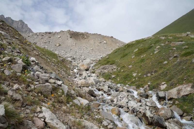 Подъем на перевал Беркут Тас (3610 м) от Поляны Терра