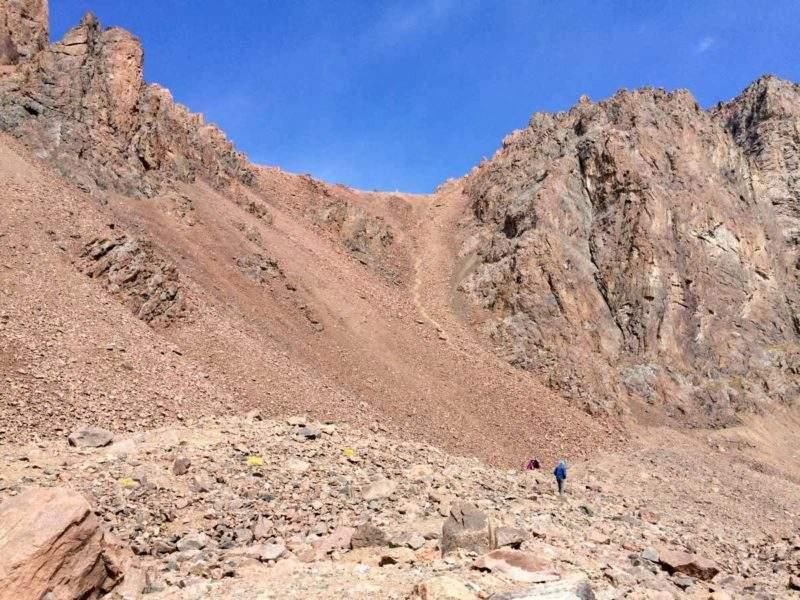 Перевал Пионерский (1Б, 3870 м) со стороны озера №6