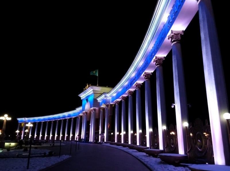 Новогодний Парк первого Президента Казахстана