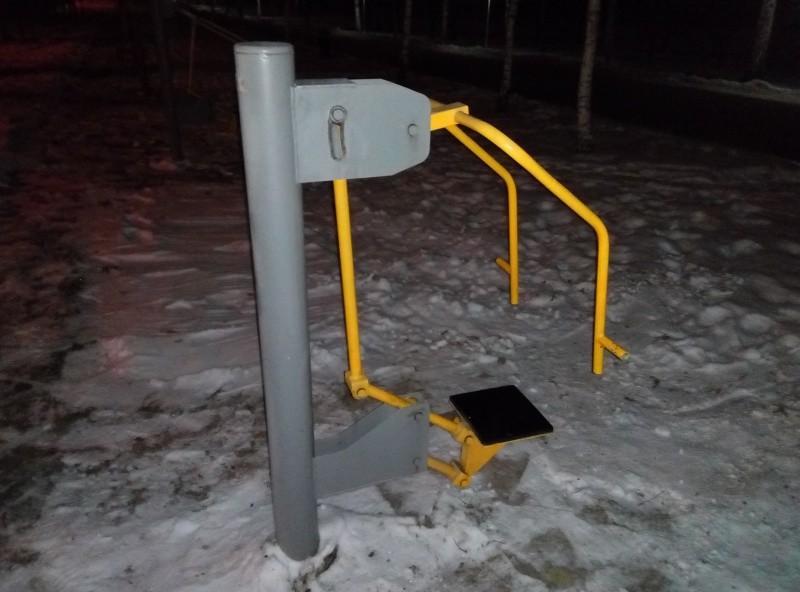 Тренажер в Парке первого Президента Казахстана