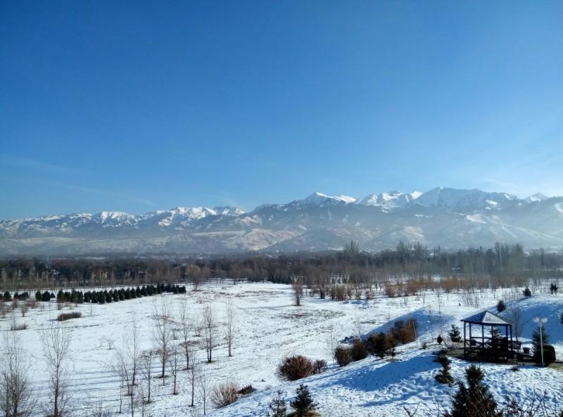 В парке первого Президента Казахстана