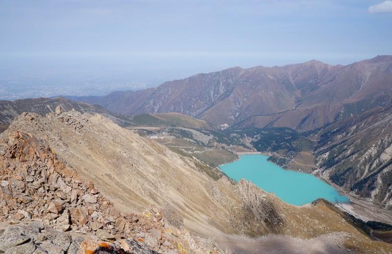 Вид на БАО с пика Крошка (3722 метра)