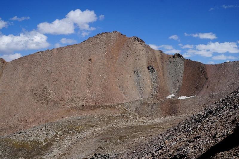 Пик Крошка, 3722 м, вид со стороны Турана