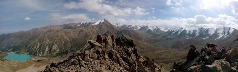 Панорама с Крошки (3722 м)
