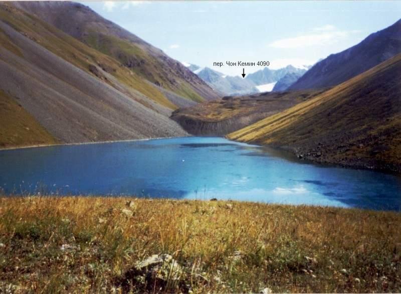 Перевал Чон Кемин, 1Б*, 4090 м со стороны озера Жасыл Коль